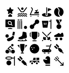 Sports icon 9 vector