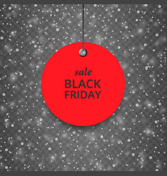 texture-snow-black-friday-red vector image