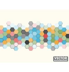 Abstract Honeycomb Hexagon Background vector image
