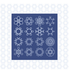 basic symbol templates for background and vector image