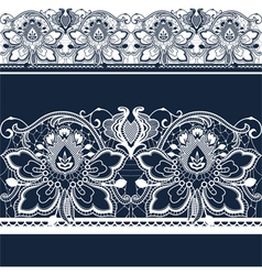 Lace vector image vector image