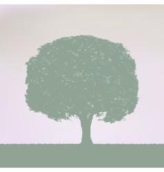 Vintage Tree Design EPS 8 vector image vector image