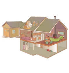 Indoor air quality vector image