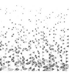 abstract modern triangle patterns gray tone vector image