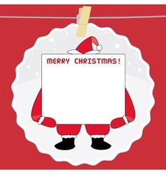 Christmas greeting card40 vector image