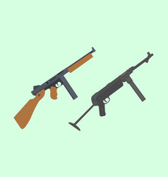 Compare vs versus between usa america thompson vector