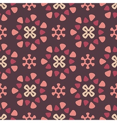 Dark retro pattern vector image