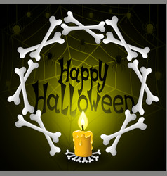 Holiday for halloween vector