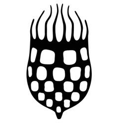 Infusoria tintinnid - silhouette vector