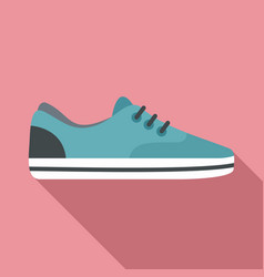 sport shoe icon flat style vector image