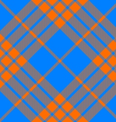 clan tartan diagonal seamless pattern orange and vector image vector image