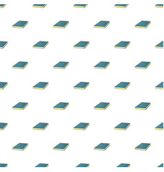 blue book pattern seamless vector image