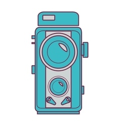 camera video isolated icon vector image