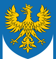 coat of arms of opole voivodeship in poland vector image
