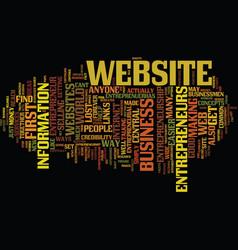 Entrepreneur com text background word cloud vector