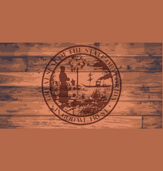 florida state seal brand vector image