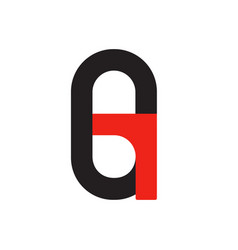 G g logo logotype - english font upper case letter vector
