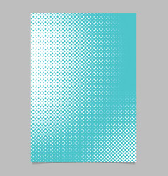 geometrical halftone dot pattern background page vector image