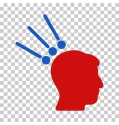 Head test connectors icon vector