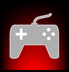 joystick simple vector image