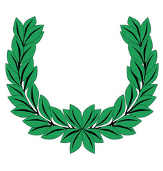 Laurel crown vector