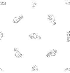 spinach cake pattern seamless vector image