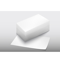 Stack of paper vector