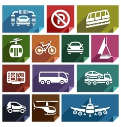 Transport flat icon-04 vector