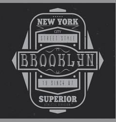 Vintage label design vector