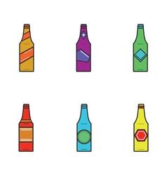 6 bottles of vector