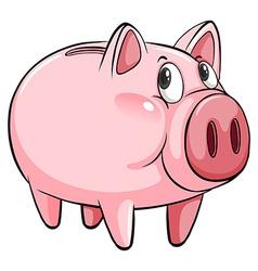 A big piggybank vector