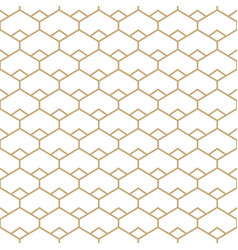 abstract gold and white seamless pattern vector image