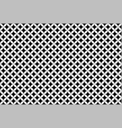 black and white shippo japanese geometric pattern vector image