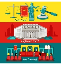 Concept High Court and Justice vector