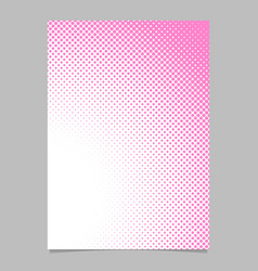 geometrical abstract halftone dot background vector image