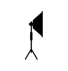 icon studio light equipment vector image