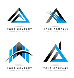 Letter A Logo Designs vector image
