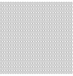 seamless pattern with black bitcoin outline signs vector image