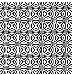 seamless pattern with radiating lines starburst vector image