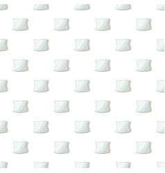 white pillow pattern seamless vector image