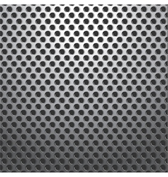 Metal Holes Plate Background Seamless vector image vector image