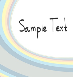abstract backgrounds sample text vector image