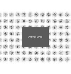 Abstract minimal gray square pattern background vector