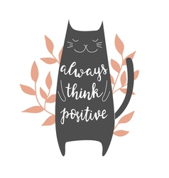 Always think positive vector