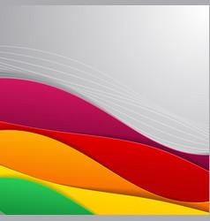 Flat material design vector