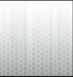 hexagon halftone vector image