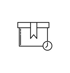 parcel waiting signs and symbols can be used for vector image