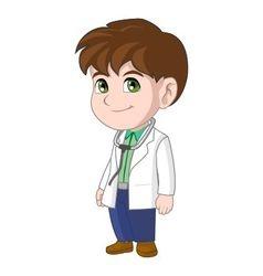 Doctor Kid vector image