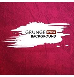 Grunge vine background with splash banner vector image vector image