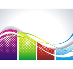 web background vector image vector image